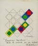Victor  Vasarely / Symphonie Inachevee / 1967