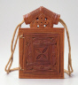Ethiopia / Icon polyptic and leather  case / 18th- 19th century
