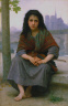 William-Adolphe Bouguereau / The Bohemian / 1890