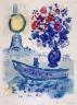 Marc Chagall / Bateau-Mouche with Bouquet / 1960
