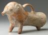 Persian / Rython in shape of  animal / c. 1500 B.C.