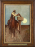 Newell Convers Wyeth / Rural Delivery (Where the Mail Goes, 'Cream of Wheat'  Goes) / 1906