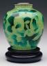 Inaba Studios / Plique-a-jour Ovoid  vase / 20th  century