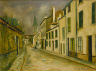 Maurice Utrillo / Rue à Stains / 1926