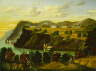 Thomas Chambers / View of West Point / c.  1850