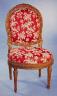 Henri  Jacob / Pair of side  chairs / 1769