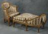 Georges Jacob / Duchesse d'Enfant Brisée (child's day  bed) / c.  1780