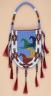 Charles Chief Eagle / Beaded Bag / 1991