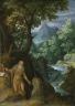 Girolamo Muziano / Landscape with St. Onuphrius / 1574 ?
