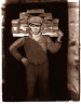 August Sander / Bricklayer's Mate, Cologne / 1929, printed posthumously before 1971