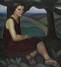 Prudence Heward / Girl on a Hill / 1928