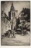 Cyril H. Barraud / Place St. Bertin, Poperinghe / c. 1919
