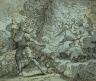 Jean-Baptiste Corneille / Moses and the Burning Bush / c. 1685-1695