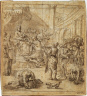 Domenico Maria Canuti / Scene of Investiture / c. 1662-1667