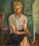 Prudence Heward / Portrait of Mrs. Zimmerman / 1943
