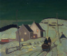 Albert H. Robinson / Moonlight, Saint-Tite-des-Caps / c. 1929