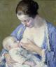 Gari Melchers / Mother and Child / ca. 1920