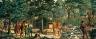 Gerald Sargent Foster / Scene near Poughkeepsie, 1690 (mural study, Poughkeepsie, New  York Post Office) / ca. 1939