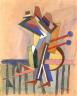 William H. Johnson / Jitterbugs (IV) / ca. 1941