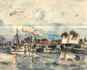 William H. Johnson / Kerteminde Harbor / ca. 1930-1932