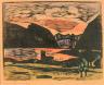 William H. Johnson / Volda Fjord, Norway / ca. 1935-1937