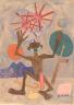 William H. Johnson / Ezekiel Saw the Wheel / ca. 1943-1944