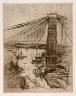John Marin / Brooklyn Bridge / 1911