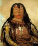 George Catlin / Peh-tó-pe-kiss, Eagle's Ribs, a Piegan Chief / 1832