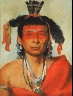 George Catlin / Másh-kee-wet, a Great Dandy / 1831
