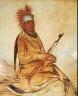 George Catlin / W'y-ee-yogh, Man of Sense, a Brave / 1832