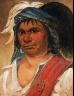 George Catlin / Hard Hickory, an Amiable Man / 1831