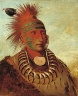 George Catlin / No-ho-mun-ya, One Who Gives No Attention / 1844
