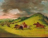 George Catlin / Battle Between Sioux and Sac and Fox / 1846-1848
