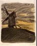 Lyonel Feininger / Windmill on a Hilltop / 1910