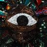Chris Ofili / Third Eye Vision / 1999