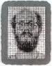 Chuck Close / Self-Portrait, Rigid / 1982