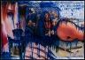 Thomas Hirschhorn / Blue Serie (Junior Thesis, Senior Thesis) / 2001