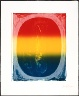Jasper Johns / Figure 0 from the Color Numeral Series / 1969