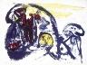 Pierre Alechinsky / Le Lion / 1961