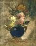 Marc-Aurèle de Foy Suzor-Coté / Nature morte (Fleurs) / Vers 1900