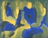 Fernand Leduc / Composition / 1954