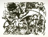 Jackson Pollock / Untitled (based on painting number 7), from a set of six screenprints after paintings by the artist / 1951