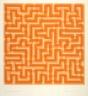 Anni Albers / Orange Meander / 1970
