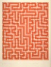 Anni Albers / Red Meander II / 1970 - 1971