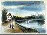 Maurice de Vlaminck / The Bridge over  the Oise at Mery / 1925