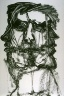 Jim Dine / Twenty-eighth plate in the portfolio Biotherm (for Bill Berkson) by Frank O'Hara (San Francisco: Arion Press, 1990) / 1990