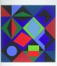 Victor Vasarely / Sikra-MC / 1968