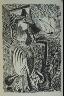 Pablo Picasso / Femme surréaliste (Surrealist Woman), illustration on p. 27 of the book Les Yeux fertiles (The Fertile Eyes)  by Paul Eluard (Paris: G. L. M. [Guy Lévis Mano], 1936) / 1936