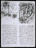 Pablo Picasso / Untitled, pgs.  7-8,  in the book Poèmes et lithographies by Pablo Picasso (Paris: Galerie Louise Leiris, 1954). / 1949