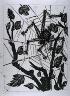 """Pablo Picasso / """"L'araignée (The Spider),""""  in the book Histoire naturelle:  Picasso eaux-fortes originales pour les textes de Buffon (Picasso's Original Etchings for Buffon's Text)  (Paris: Martin Fabiani, 1942) / 1936"""